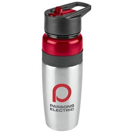 Titan Stainless Water Bottle with Loop