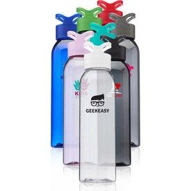 Trainer Plastic Water Bottle (22 Oz.)