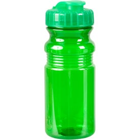 Imprinted Translucent Bottle