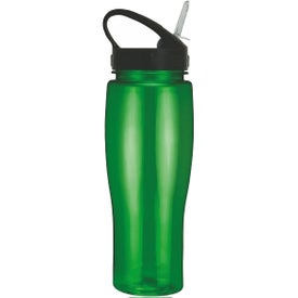 Translucent Contour Bike Bottle with Sport Sip Lid for Your Company