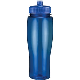 Company Translucent Contour Bottle with Push Pull Lid
