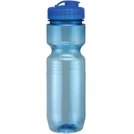 Translucent Jogger Bottle with Flip Top Lid for Your Church