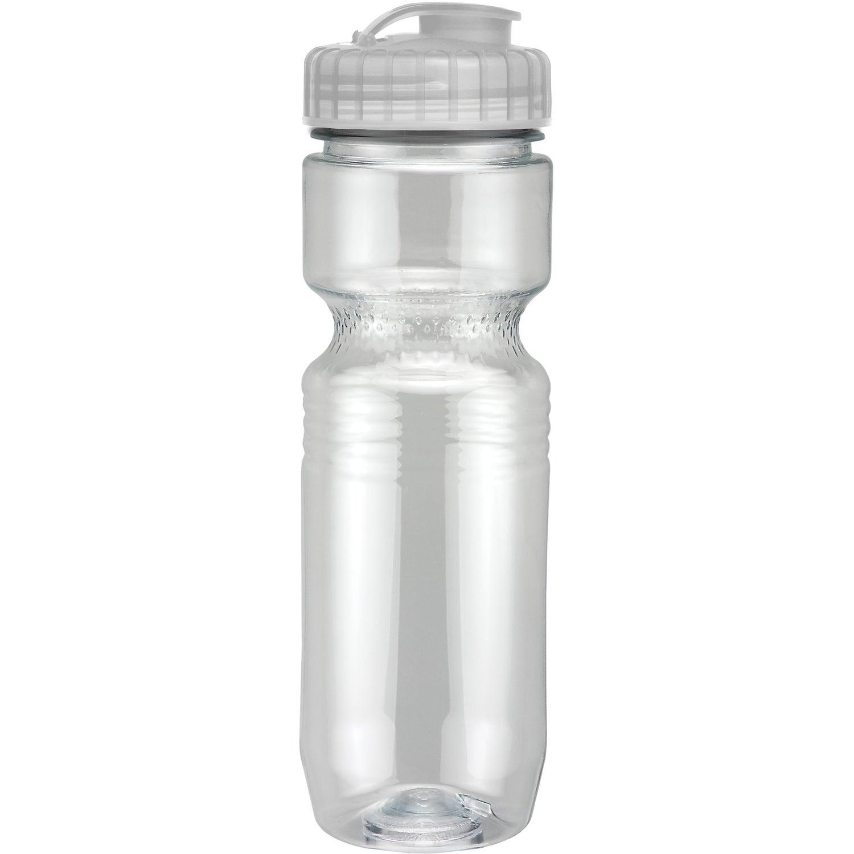 Translucent Jogger Bottle with Flip Top Lid (26 Oz.)