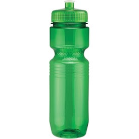 Translucent Jogger Bottle with Push Pull Lid for your School