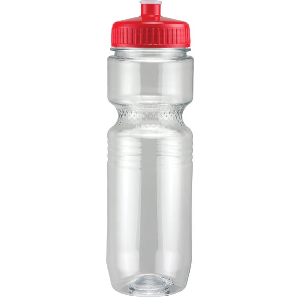 Translucent Jogger Bottle with Push Pull Lid