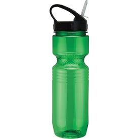 Customized Translucent Jogger Bottle with Sport Sip Lid