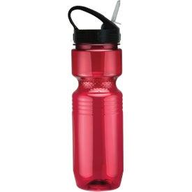 Monogrammed Translucent Jogger Bottle with Sport Sip Lid