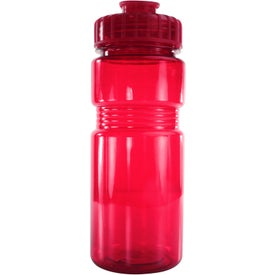Translucent Recreation Bottle with Flip Top Lid for your School