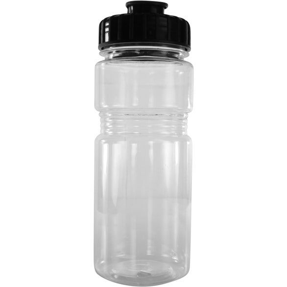 Translucent Recreation Bottle with Flip Top Lid