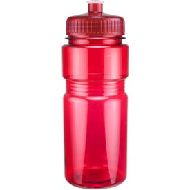 Translucent Recreation Bottle with Push Pull Lid for Your Organization