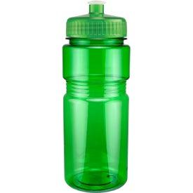 Custom Translucent Recreation Bottle with Push Pull Lid