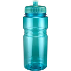 Promotional Translucent Recreation Bottle with Push Pull Lid