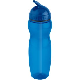 Imprinted Translucent Water Bottle