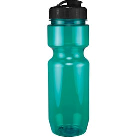 Translucent Bike Bottle With Flip Top Lid for Your Organization