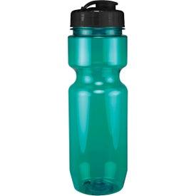 Translucent Bike Bottle With Flip Top Lid for Your Organization