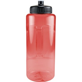Grip and Sip Bottle with Push Pull Lid for Marketing