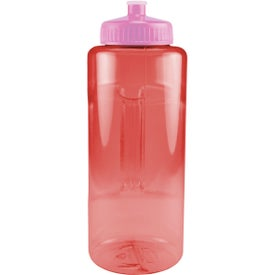 Customized Grip and Sip Bottle with Push Pull Lid