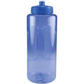 Grip and Sip Bottle with Push Pull Lid for Customization