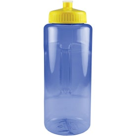 Grip and Sip Bottle with Push Pull Lid for Promotion