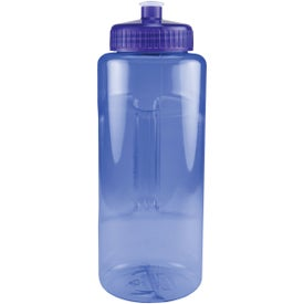 Grip and Sip Bottle with Push Pull Lid Imprinted with Your Logo