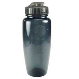 Advertising Translucent Poly Pure Bottle with Push Pull Lid