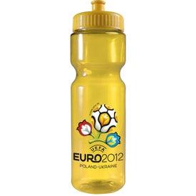 Transparent Bottle (28 Oz., Full Color)