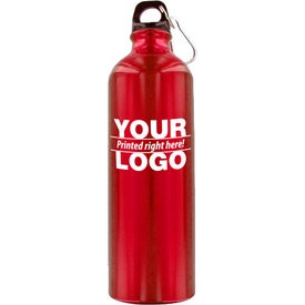 Alpine Aluminum Water Bottle Imprinted with Your Logo