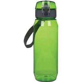 Monogrammed Trekker Tritan Bottle