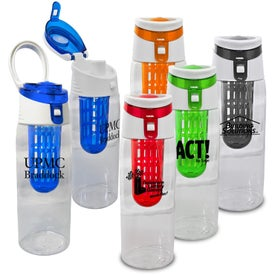 Trendy Sport Bottle with Fruit Infuser with Your Slogan