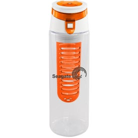 Trendy Sport Bottle with Fruit Infuser for Advertising