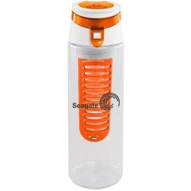 Trendy Sport Bottle with Fruit Infuser for Advertising