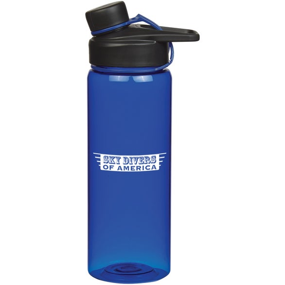 Translucent Blue Tritan Avid Bottle