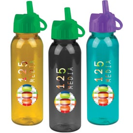 Tritan Bottle With Flip Straw Lid for Your Organization