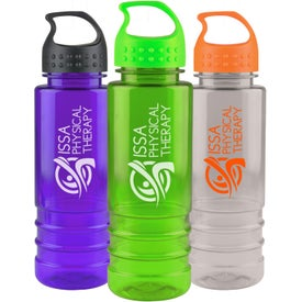 Tritan Salute Bottle with Crest Lid with Your Logo