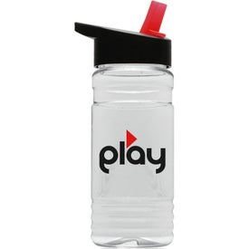 Tritan Sports Bottle with Flip Straw Lid (20 Oz.)