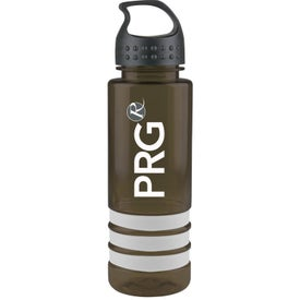 Printed Tritan Stripe Bottle with Crest Lid