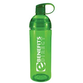 Twice Around Tritan Bottle Imprinted with Your Logo