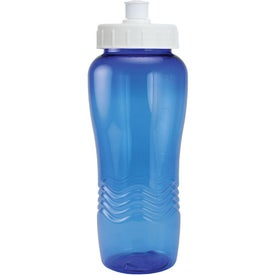 Imprinted Twist Bottle With Push Pull Lid