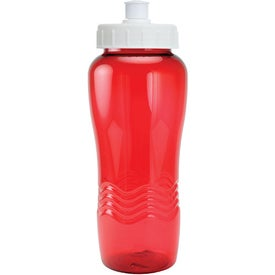 Customized Twist Bottle With Push Pull Lid