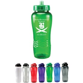 Twist Bottle With Push Pull Lid