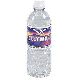 Personalized Twist Cap Water Bottle