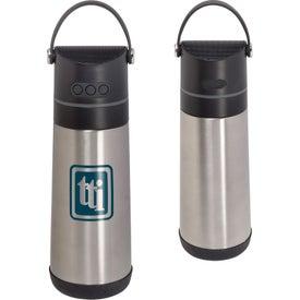 Vacuum Bottle Wireless Speaker (16 Oz.)