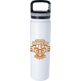Vacuum Bottle with Carabiner Lid (24 Oz.)