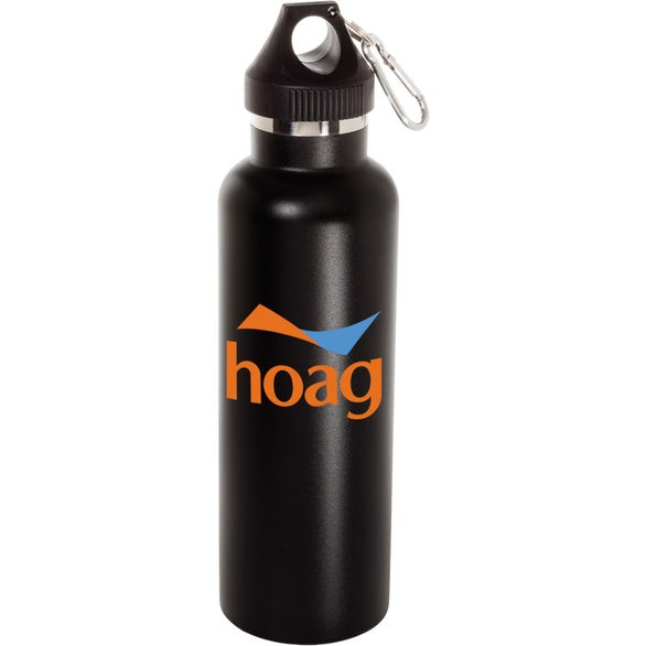 Matte Finish Black Vacuum Sport Bottle