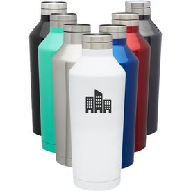Vacuum Stainless Steel Water Bottles (17 Oz.)