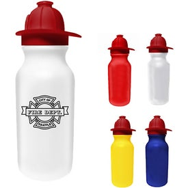 Value Cycle Bottle with Fireman Helmet Push 'n Pull Cap (20 Oz.)