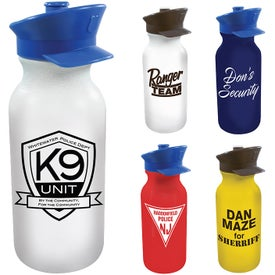 Value Cycle Bottle With Police Hat Cap (20 Oz.)