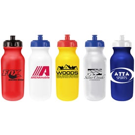 Value Cycle Bottles with Push ''n Pull Cap (20 Oz.)