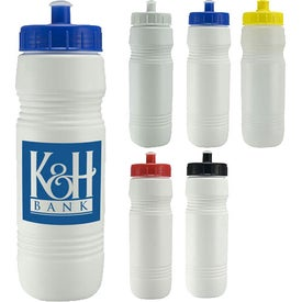 Value Bottle With Push/Pull Lid for Advertising