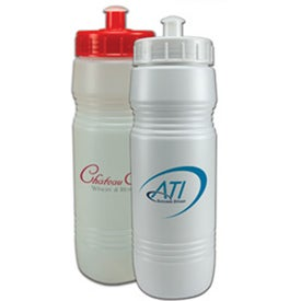 Value Bottle With Push/Pull Lid Printed with Your Logo
